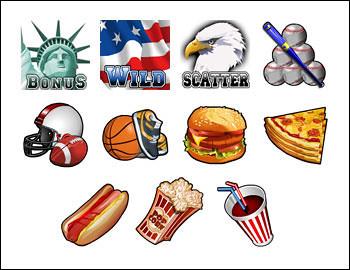 free Douguie's Delights slot game symbols