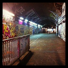 Leake St tunnel, London SE1