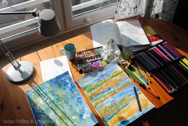 In the Studio--Sunny Window