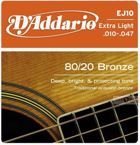 D'Addario EJ10 Bronze