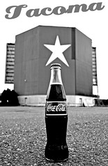 Star Lite Coke () Tags: city urban usa history glass america mexico grit real drive washington theater state pacific northwest united coke sugar neighborhood mexican nostalgia swap nostalgic americana local tacoma cocacola states meet imported in starlite southtacomaway hfcs