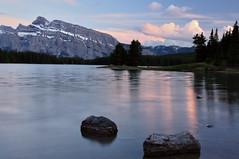 Two Jack Lake (irakshit) Tags: banff canadianrockies banffrockies photocontesttnc11