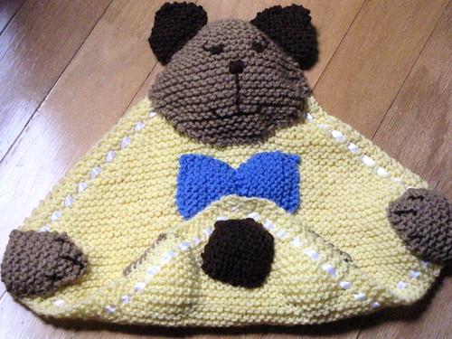 Knit Blankie Buddy