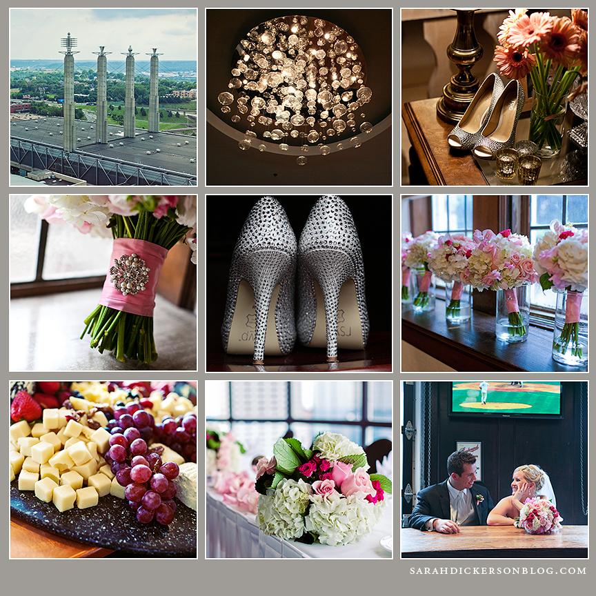 Crowne Plaza Kansas City wedding reception photographers