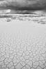 Rain Fingers Above the Bonneville Desert, Utah (bretedge) Tags: blackandwhite southwest weather unitedstates ominous patterns scenic northamerica storms bonneville bretedge bonnevilledesert