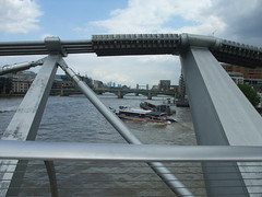 Tower bridge from footbridge