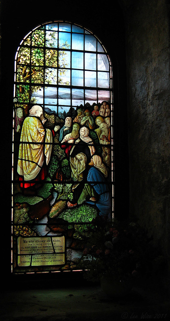 Stained Glass Window - St Fillans Church - Aberdour