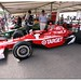 "Scott Dixon 2008 Dallara Honda Indy Car. ""100 Years Indianapolis 500"" Goodwood Festival of Speed 2011"