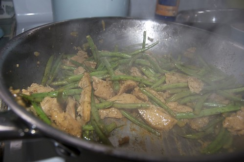 Green Beans and Seitan