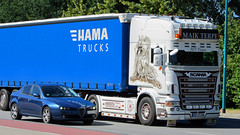 Scania Super R500 Truck - Hama Trucks (LKW-Fotos) Tags: truck widescreen super 169 hama scania lkw r500 sattelschlepper sattelzug