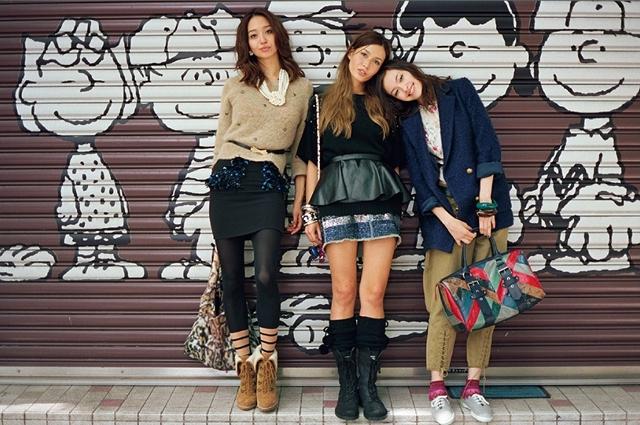 VOGUE 日本: 3 Girls