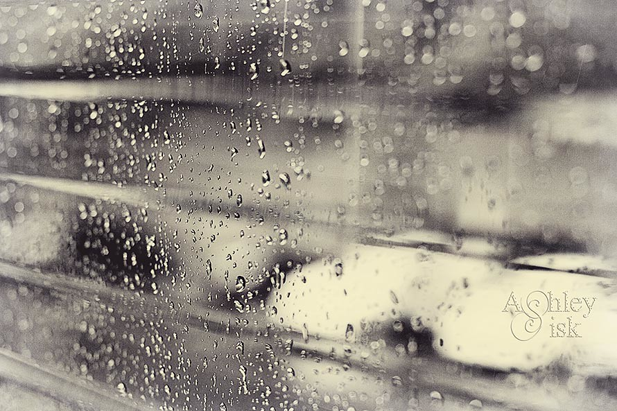 Rain on the Window BW RS