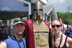 Hanging with Spartan