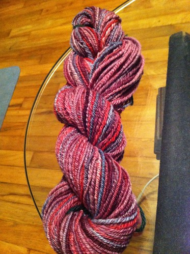 First finished skein! by BlueDragon2