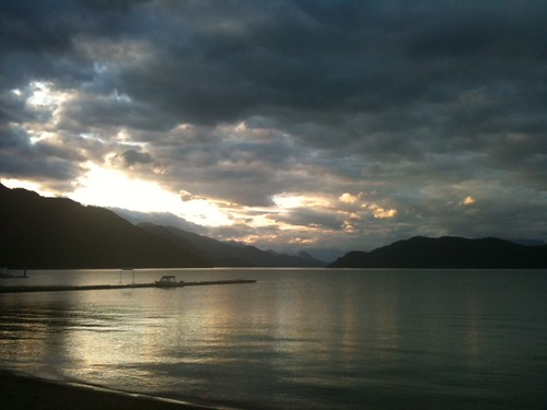 Welcome to Harrison Lake! by acageybee