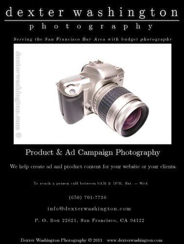 Dexter Ad #1: Product & Ad Photography