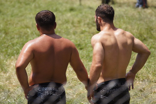 Introducing the 650th Oil Wrestling Championships from Kirkpinar, near Edirne by CharlesFred