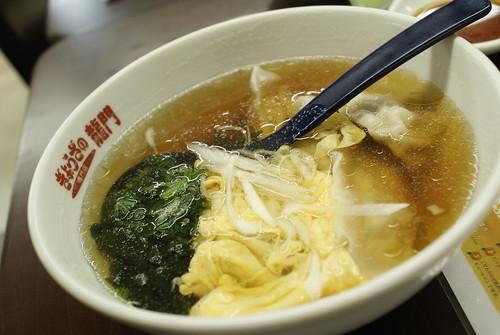 スープ餃子@ぎょうざの龍門