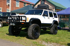 Jeep Cherokee - XJ (geepstir) Tags: truck offroad pennsylvania 4wd pa monstertrucks bloomsburg truckshow columbiacounty