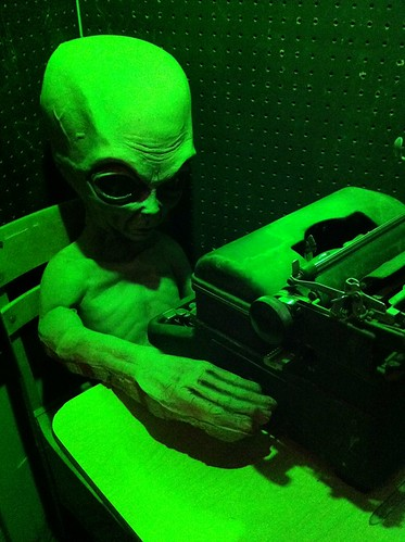 Alien Typewriter
