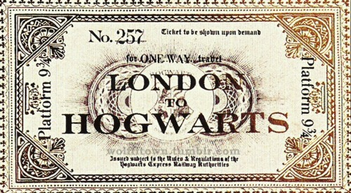 mountainhart hogwarts ticket not round