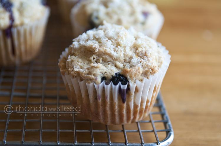 Banana Blueberry Lemon Muffins
