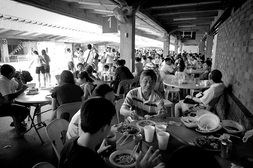 Crowds thronged the Tanjong Pagar railway station for the famous food. Scenes like this will never be repeated again.