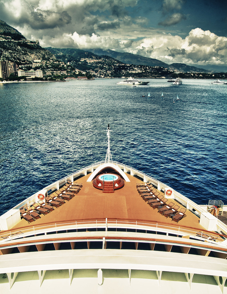 Seabourn Quest at Monte Carlo