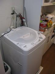 washing machine (fisshaasan) Tags: kure sunlifebuilding washingmachineapartment