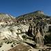 Um pontinho vermelho na Cappadocia