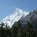 Avistando pela 1a. vez o Annapurna II (7.937m)