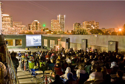 "Rooftop Cinema | ""Top Down"" @ Hotel Deluxe, Portland"