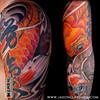 Japanese Koi Arm Sleeve • Jason Dunn Visit Jason Dunn's