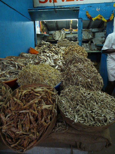 dried fish in Munnar
