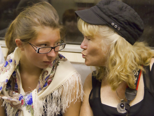 Moscow metro Abby Joan
