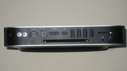Mac Mini Desktop: The Business End