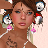 Earrings and Tattoo (Lexia Barzane (www.lexiabarzane.com)) Tags: sl secondlife photoaday dailyphoto hunt delusions tinybird lexia porject365 teasoup 286365 barzane legalinsanity lexiabarzane thisisafawn malfeanvisions {mv} photographybylexiabarzane alvulo lexiasmutterings cupcakewarhunt