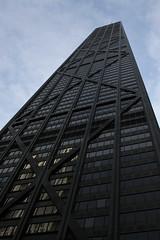 John Hancock Center (Markus Moning) Tags: blue windows sky usa chicago building architecture facade america skyscraper john us illinois united center il states hancock moning markusmoning canoneos50d