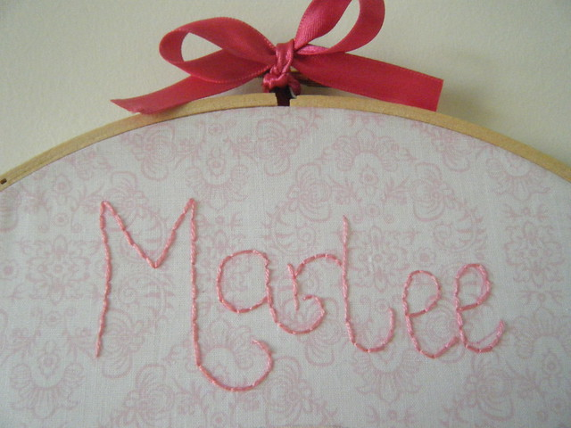 Marlee's Wall Embroidery