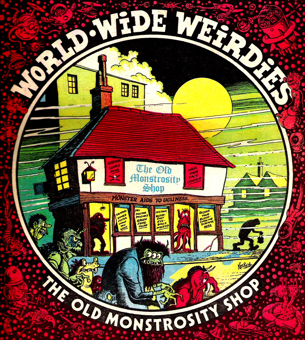 Ken Reid - World Wide Weirdies 48