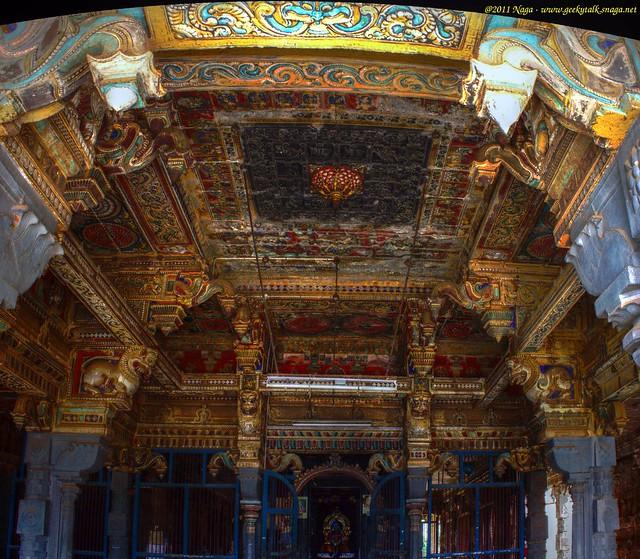 KundraKudi Temple Mantapam - Vectronama