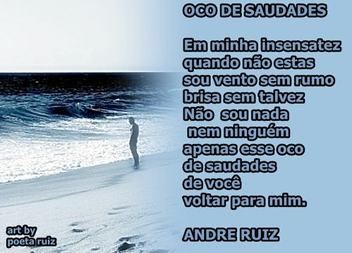 OCO DE SAUDADES by amigos do poeta