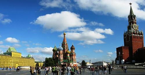 Vista de la Plaza Roja
