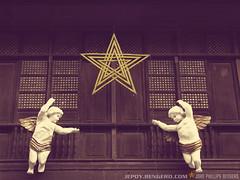 Parol (lastikman) Tags: star angels parol merrychristmas intramuros 143 pasko onscreen canonpowershots5is merrychristmasna