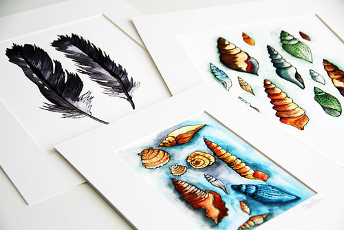 matted prints for new online shop