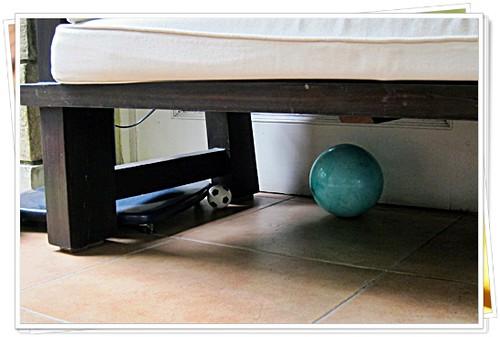 Balls around the house