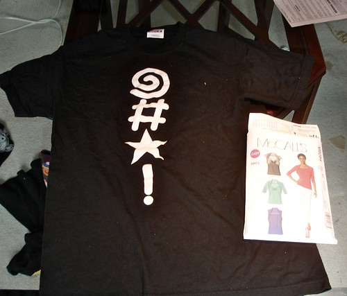CBLDF Tshirt & Pattern