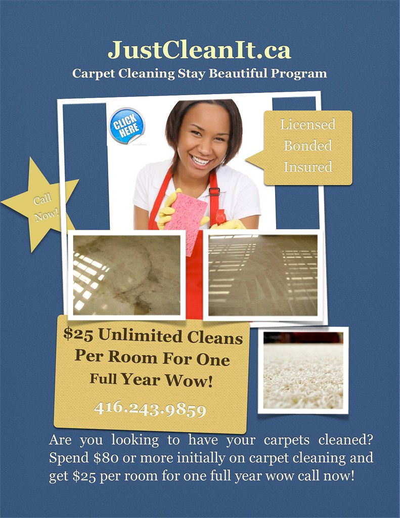 Carpet Cleaning Services Scarborough, Toronto 416.243.9859