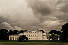 Storm over the Kenwood House (clsampy) Tags: house storm london canon over sigma heath hampstead kenwood 30mm 550d