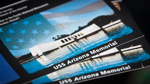 USS Arizona Memorial ticket